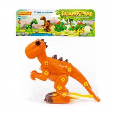 Конструктор-динозавр Тираннозавр 40 элементов