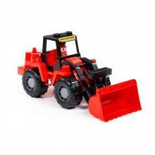 MAMMOET трактор-погрузчик  (в сетке) Полесье