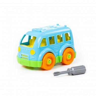 Конструктор-транспорт Автобус малый 15 элементов Полесье