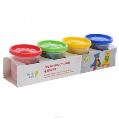 Набор для детского творчества «Тесто-пластилин 4 цвета» TA1010V