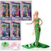 Кукла DEFA русалка с аксессуарами