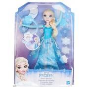 кукла эльза, запускающая снежинки рукой