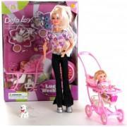 Кукла DEFA с коляской