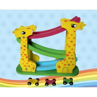 """Деревянная игрушка """"Серпантин. Автомобили"""" (3 уровня)"""