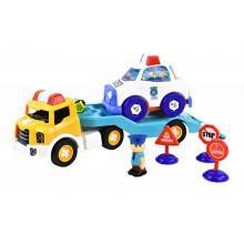 Игрушка Трейлер с полицейской машиной