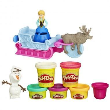 """Игровой набор Play-Doh """"Приключение Анны на санях"""""""
