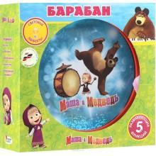 """Барабан Играем вместе """"Маша и Медведь"""""""