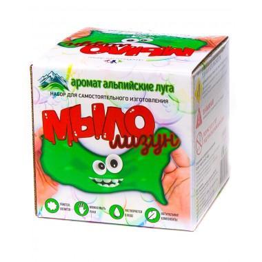 """Набор юный химик """"Мыло-лизун"""" (альпийские луга)"""