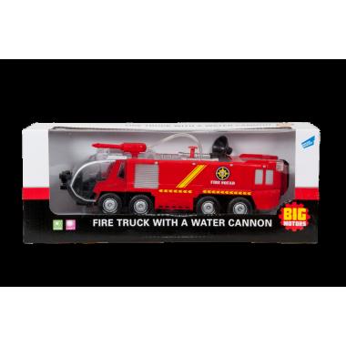 Пожарная машина с брандсбойдом
