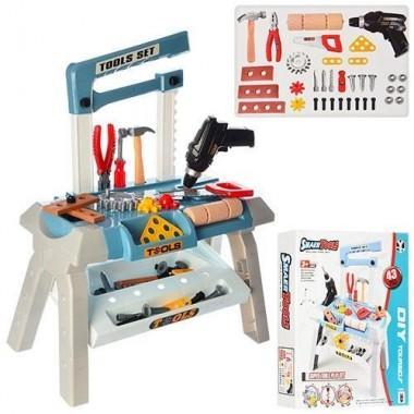 Детский набор инструментов с дрелью