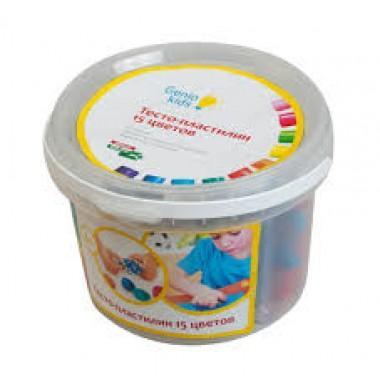 """Набор для детской лепки """"Тесто-пластилин 15 цветов"""""""