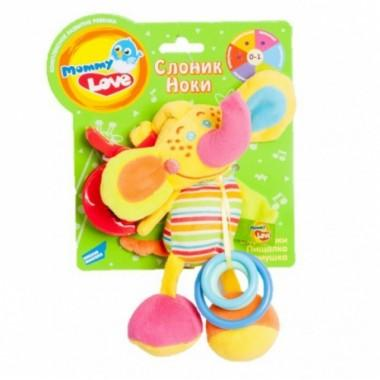 Развивающие игрушки для малышей Слоник Ноки