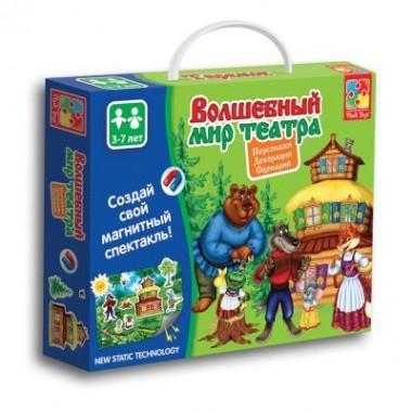 Настольная игра Vladi Toys Волшебный мир театра Теремок VT3207-03