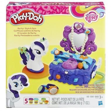 """Игровой набор Play-Doh """"Туалетный столик Рарити"""""""