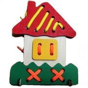 Деревянная игрушка Домик
