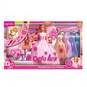 Кукла DEFA с нарядами и аксессуарами