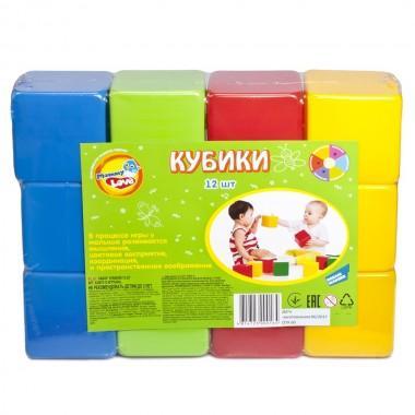 Набор кубиков, 12 шт