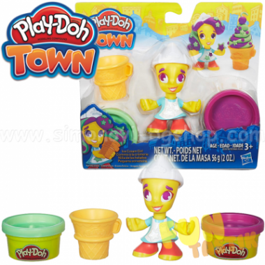 """Игровой набор Play-Doh Город """"Фигурки жителей города"""""""