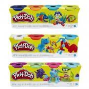 Игровой набор Hasbro Play-Doh из 4 баночек