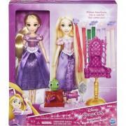 Кукла принцесса диснея Рапунцель длинные волосы с аксессуарами