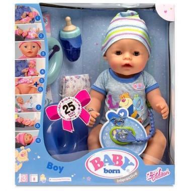 Кукла Baby-Born интерактивная мальчик