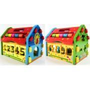 Деревянная игрушка сортер Дом