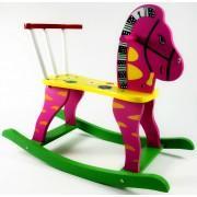 Детский деревянный конь качалка Лошадка