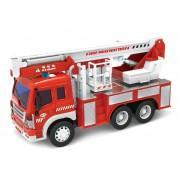 Машина инерционная Пожарная машина, свет/звук, арт. WY350C