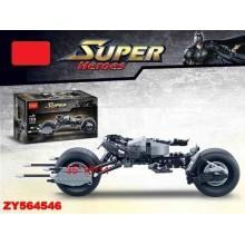 Конструктор аналог LEGO Technic Техник мотоцикл Бэтмена